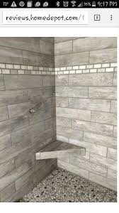 Small Bathroom Showers Ideas Colors Montagna Dapple Gray 6 In X 24 In Shower Idea Maybe White Wash