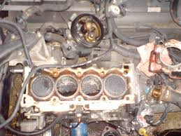 citroen saxo 1 0l head gasket repair youtube