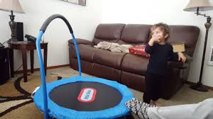 Little Tikes Toy Chest Little Tikes 3 Foot Trampoline Youtube