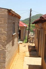 how to start to build a house residents start to build houses in dry riverbed mpumalanga news