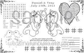 wedding activity pdf kids printable lgbtq custom