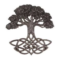 celtic family tree of with celtic knot roots wall hanging 12 25