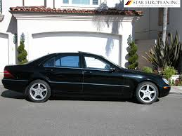 mercedes 500 for sale 2002 mercedes s 500 one owner california car for sale
