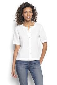 Comfort Classic Lightweight Linen Tee Shirt For Women Lightweight Linen