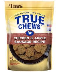 recipes for dog treats true chews premium recipes chicken apple sausage recipe dog