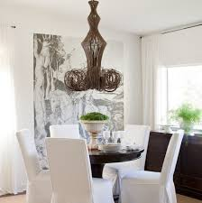 stunning ideas for parson chair slipcovers design 4 dining room