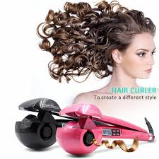Bed Head Tigi Wave Artist Deep Waver Automatic Hair Styling Curling Curler Iron Roller Tool Lcd Machine