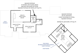 two bedroom ranch house plans tres le fleur 4445 3 bedrooms and 3 baths the house designers