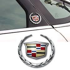 cadillac cts emblem amazon com deselen ebs bt08 cadillac emblem logo symbol metal