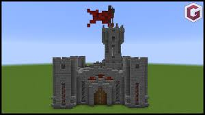 how to make a mini minecraft castle pocket castle youtube