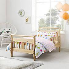 toddler sleigh bed natural finish childrens sleep crib mattress