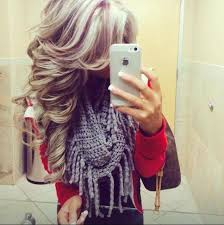 gorgeous hair i love the pretty brown color with blonde and red lowlights would so love to do this with my hair but