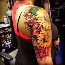 Tattoo Ideas On Shoulder Best 25 Flower Arm Tattoos Ideas On Pinterest Floral Mandala