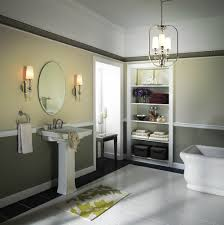 Lantern Chandelier For Dining Room by Remarkable Bathroom Lighting Idea With Lantern Chandelier And