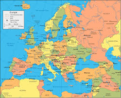 France Cities Map by Map Of European Cities Throughout Europe City Map Roundtripticket Me