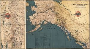 Maps Of Alaska by Map Of The White Pass And Yukon Route 1904