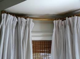 hazardous design let u0027s talk about drapery hardware for bay windows