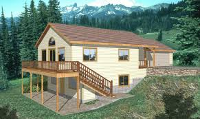 home plans for sloping lots fair 25 sloping lot house plans design decoration of sloping lot