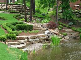 Landscaping Ideas For Sloped Backyard Wonderful Landscaping Ideas For Hills U2014 Porch And Landscape Ideas