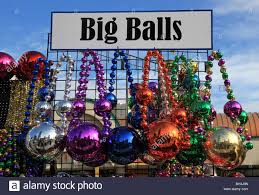 big balls on sale las vegas stock photo royalty free image