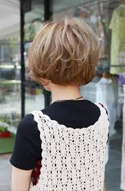 medium layered haircuts for women front and back view