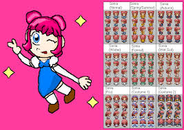 all acnl hairstyles with colours animal crossing new leaf my life sonia by superangel502 on deviantart