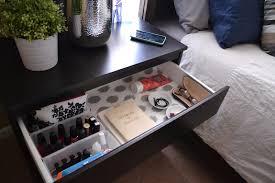 Ikea Kullen Dresser 3 Drawer by Nightstand Drawer Organization Idea Organizing Ideas Pinterest