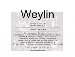 weylin baby name means of wolf in celtic nydob com