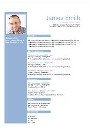 A Resume Template On Word Resume Templates For Microsoft Word Sle Functional
