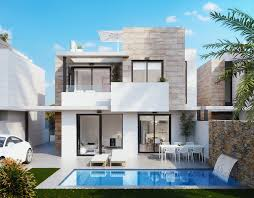 Reihenhaus Zu Kaufen Neubau Villen Zu Verkaufen In Villamartin