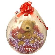 gift inside a balloon tulsaballoons