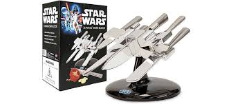 kitchen knives holder start a rebellion in your kitchen with an x wing knife holder