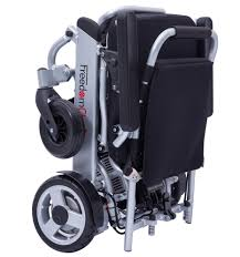 lightweight folding brushless motor electric wheelchair from china