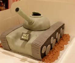 Tank Cake With Pictures