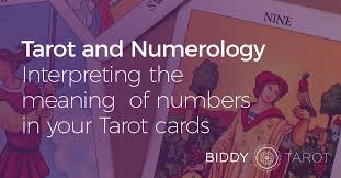 tarot and numerology u2014interpreting the meaning of numbers in your