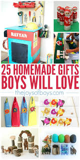 home made gifts 25 homemade gifts boys will love gift ideas for boys