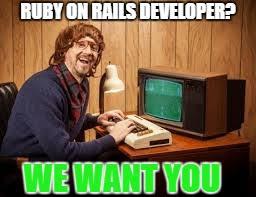 Ruby On Rails Meme - developer memes imgflip