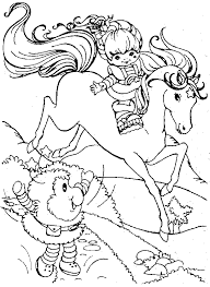 Rainbow Brite 999 Coloring Pages Adult Coloring Book 80s Coloring Pages