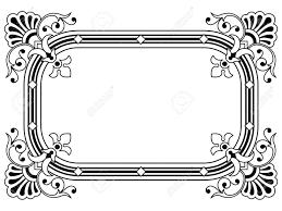 ornamental border design element royalty free cliparts vectors