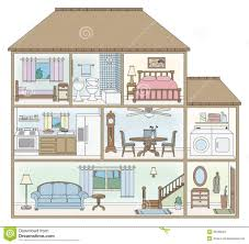 clipart of rooms inside the house clipground