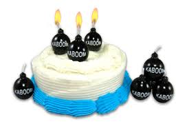 cool birthday candles kaboom birthday candles look like real bombs one more gadget