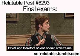 Funny Finals Memes - finals week as told by memes