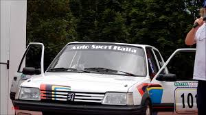 peugeot 209 peugeot 205 gti memorial conrero historic rally 2014 youtube