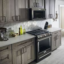 gray kitchen cabinets with black appliances 45 the black stainless steel kitchen appliances cabinet