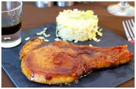 cuisiner cote de porc côtes de porc caramélisées à l orange cooking nadoo a point c