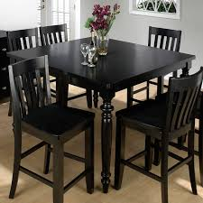 Black Kitchen Table And Chairs Best Black Dining Room Table And - Black kitchen tables