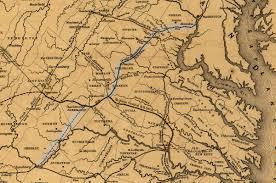 Railroad Map Of Usa by Orange And Alexandria Railroad Wikipedia