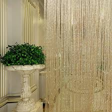 Panel Curtain Room Divider by Polyester String Curtains Room Divider Polyester String Curtains