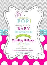 colors pink and brown giraffe baby shower invitations plus baby