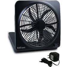 battery powered extractor fan o2 cool large battery powered fan